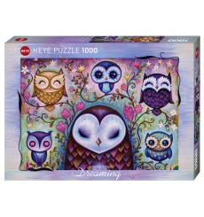 Puzzle Heye - Dreaming Geat Big Owl 1000 pièces