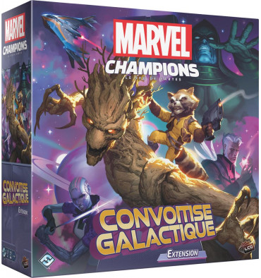 Marvel Champions extension Convoitise Galactique