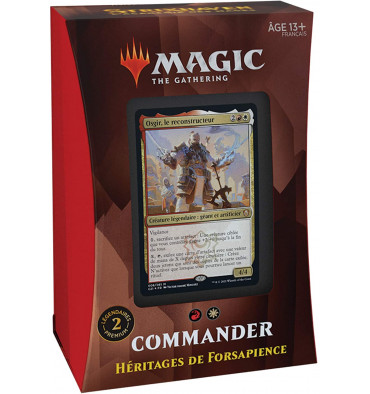 Magic The Gathering: Strixhaven - Commander - Héritages de Forsapience