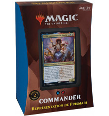Magic The Gathering: Strixhaven - COMMANDER Représentation de Prismari