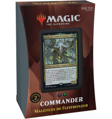 Magic The Gathering: Strixhaven - COMMANDER Maléfices de Flestrefleur