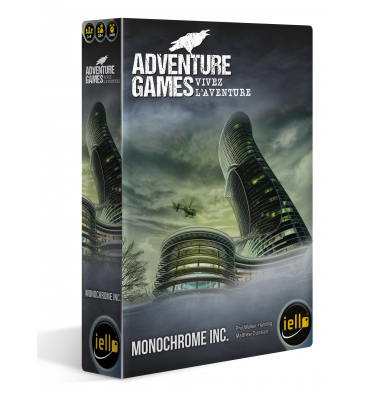 Adventure Games vivez l'aventure : Monochrome Inc.