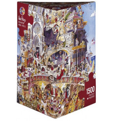 Puzzle Heye - Heaven and Hell 1500 pièces