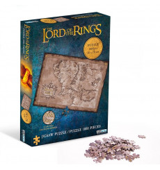 Puzzle Lord of The Rings - Terre du Milieu 1000 pièces