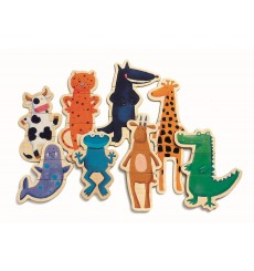 Magnets Crazy Animaux
