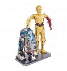Metal Earth Coffret Star Wars R2-D2 & C-3PO