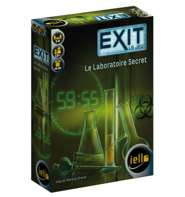 EXIT: Le Laboratoire Secret