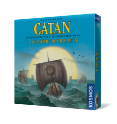 Catan Marin extension La Légende des Pirates