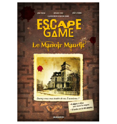 Escape Game BD : Le Manoir Maudit