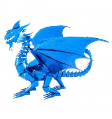 Metal Earth ICONX Blue Dragon