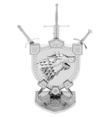Metal Earth ICONX - Game of Throne - House Stark Sigil (Sceau de la maison Stark)