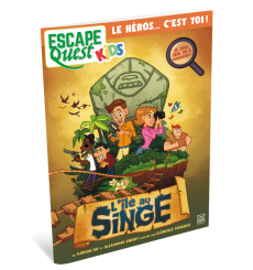 Escape Quest Kidz : L'île au Singe
