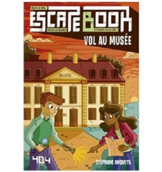 Escape Book Jr - Vol au Musée
