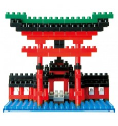 Nanoblock NBH-017 Torii of Itsukushima Shrine