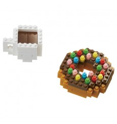 Nanoblock NBC-246 Donut & Coffee
