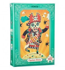 Mini Puzzle Djeco - Captain Bones