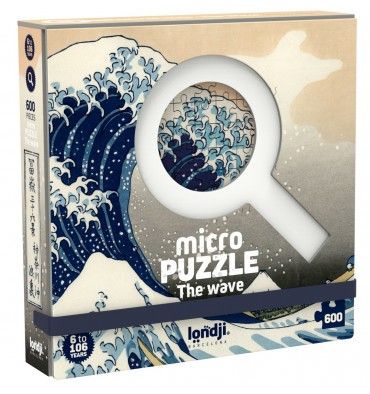 MicroPuzzle Londji The Wave - 600 pièces