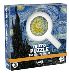 MicroPuzzle Londji Starry Night - 600 pièces