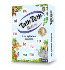 TAM TAM Safari : Les syllabes