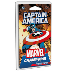 Marvel Champions extension Captain America (Paquet Héros)