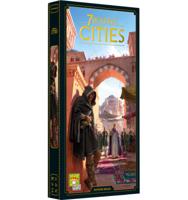 7 Wonders Nouvelle Edition extension : Cities