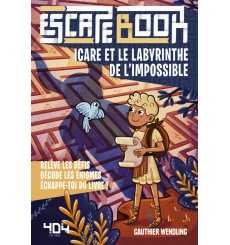 Escape Book Jr - Icare et le labyrinthe de l'impossible